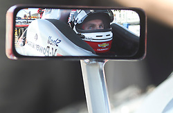 March 9, 2019 - St. Petersburg, Florida, U.S. - DIRK SHADD   |   Times  .Pictured through his sideview mirror, IndyCar driver Will Power in the cockpit of his car in pit lane before he takes to the track for an IndyCar practice session at the Grand Prix of St. Petersburg in St. Petersburg on Saturday, March 9, 2019. (Credit Image: © Dirk Shadd/Tampa Bay Times via ZUMA Wire)