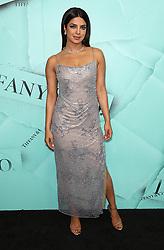 October 9, 2018 - New York City, New York, USA - 10/9/18.Priyanka Chopra at the Tiffany Blue Book Gala in New York City. (Credit Image: © Starmax/Newscom via ZUMA Press)