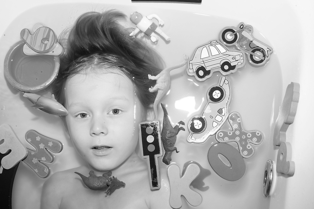 Ben plays with his bath toys at home in Berkhamsted, England  Tuesday, Sept. 29, 2015 (Elizabeth Dalziel) #thesecretlifeofmothers #bringinguptheboys #dailylife