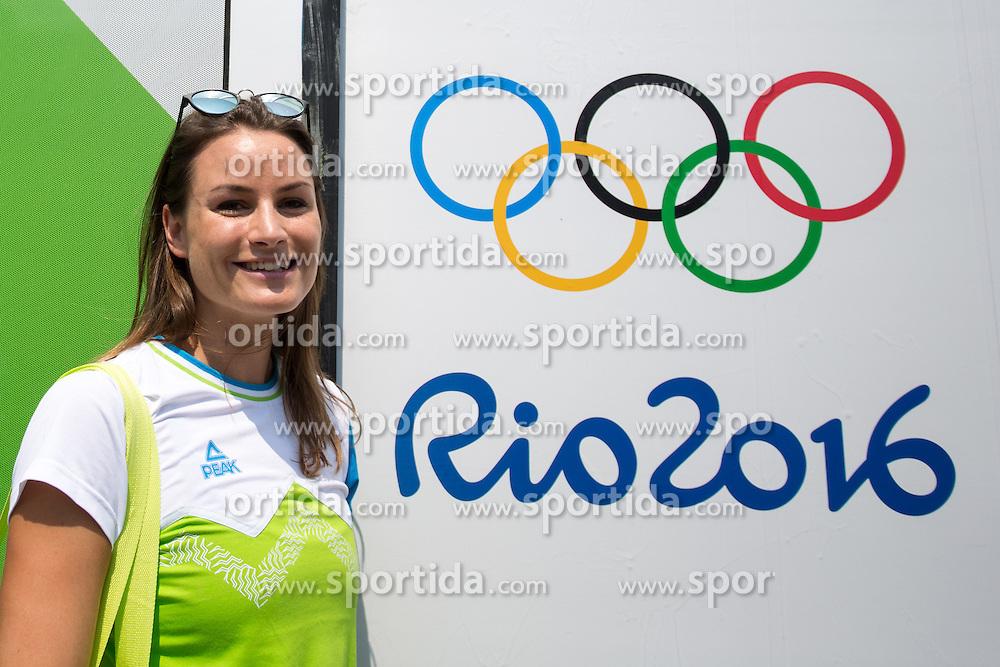 Sara Sakovic at presentation of Slovenian Olympic Team for Rio 2016, on July 22, 2016 in Zelezniska postage, Ljubljana, Slovenia. Photo by Matic Klansek Velej / Sportida