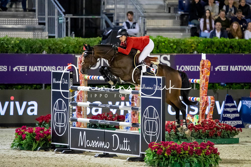 Polle Karen, JPN, With Wings<br /> Longines FEI Jumping Nations Cup Final<br /> Challenge Cup - Barcelona 2019<br /> © Dirk Caremans<br />  05/10/2019