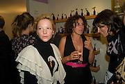 NATHALIE PRESS; SAM RODDICK; BELLA FREUD, Neal's Yard Remedies Natural Beauty Honours and drinks party. King's Rd. London. 4 September 2008.  *** Local Caption *** -DO NOT ARCHIVE-© Copyright Photograph by Dafydd Jones. 248 Clapham Rd. London SW9 0PZ. Tel 0207 820 0771. www.dafjones.com.