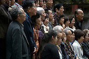 Japanese people posing for a group photo