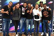 Bekendmaking van de genomineerden voor een MTV EMA Best Dutch Act.<br /> <br /> Op de foto:  Genomineerden MTV EMA Best Dutch Act: Ronnie Flex, Broederliefde en Julian Jordan