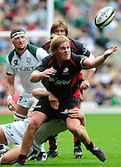 London - Saturday, 5th September, 2009: Rhys Gill of Saracens in action during the Guinness Premiership match at Twickenham, London. ..(Pic by Alex Broadway/Focus Images)