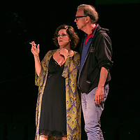Sweet Bird of Youth by Tennessee Williams;<br /> Directed by Jonathan Kent;<br /> Marcia Gay Harden with director Jonathan Kent;<br /> Chichester Festival Theatre, Chichester, UK;<br /> 7 June 2017.<br /><br />© Pete Jones<br />pete@pjproductions.co.uk