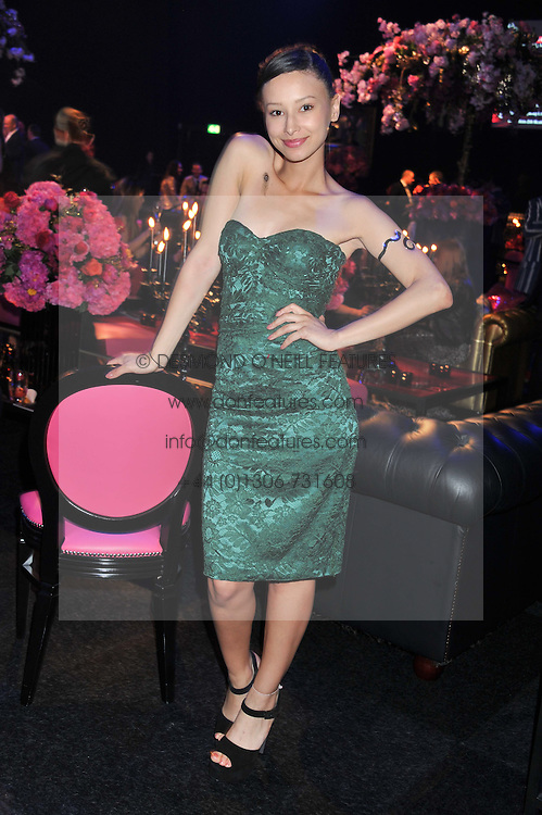 LEAH WELLER at the F1 Party in aid of Great Ormond Street Hospital Children's Charity held at Battersea Evolution, Battersea Park, London on 4th July 2012.