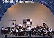 Bandshell, Band Performance, Lehighton, Carbon Co., PA