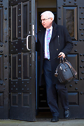 "FIL PICTURE: Thames Water has been fined a record £20m after pumping nearly 1.5 billion litres of untreated sewage into the River Thames.<br /> © Licensed to London News Pictures. 13/02/2017. Aylesbury, UK.  STEVE ROBERTSON, chief executive officer of Thames Water, leaves Aylesbury Crown Court after attending a mitigation hearing. The utility company is due to be sentenced on 24 March after pleading guilty to a range of environmental offences dating back to 2013. In court the judge commented that ""sewage spilled out left, right and centre"" that had a ""terrible impact on the environment."" He also warned that the fine will be ""substantial"" and that ""the company must be punished and not the customers."" In total nearly half a billion liters of raw or partially treated sewage was discharged into the Thames from five sites in Buckinghamshire and Oxfordshire.  Photo credit: Cliff Hide/LNP"