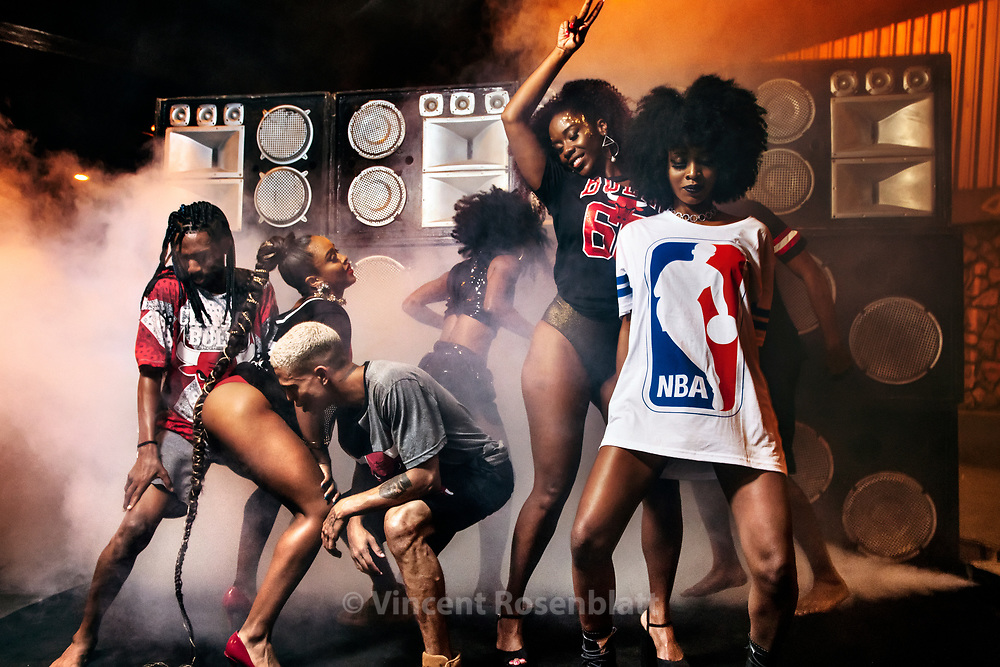 Baile Funk essay for C&A Brazil and their NBA collection, shot in Madureira, North Zone of Rio de Janeiro.
