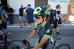 Malgorzata Jasinska (POL) of Cylance Pro Cycling rides back to the team bus after Stage 9 of the Giro Rosa - a 122.3 km road race, between Centola fraz. Palinuro and Polla on July 8, 2017, in Salerno, Italy. (Photo by Balint Hamvas/Velofocus.com)