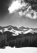 View of Ten Mile Range from Copper Mountain's Resolution Bowl