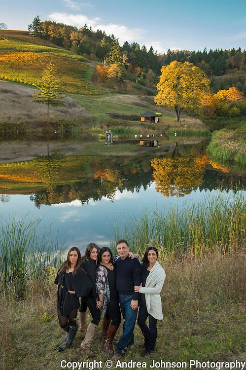 Maysara vineyard & Momtazi family, McMinville AVA, Willamette Valley, Oregon