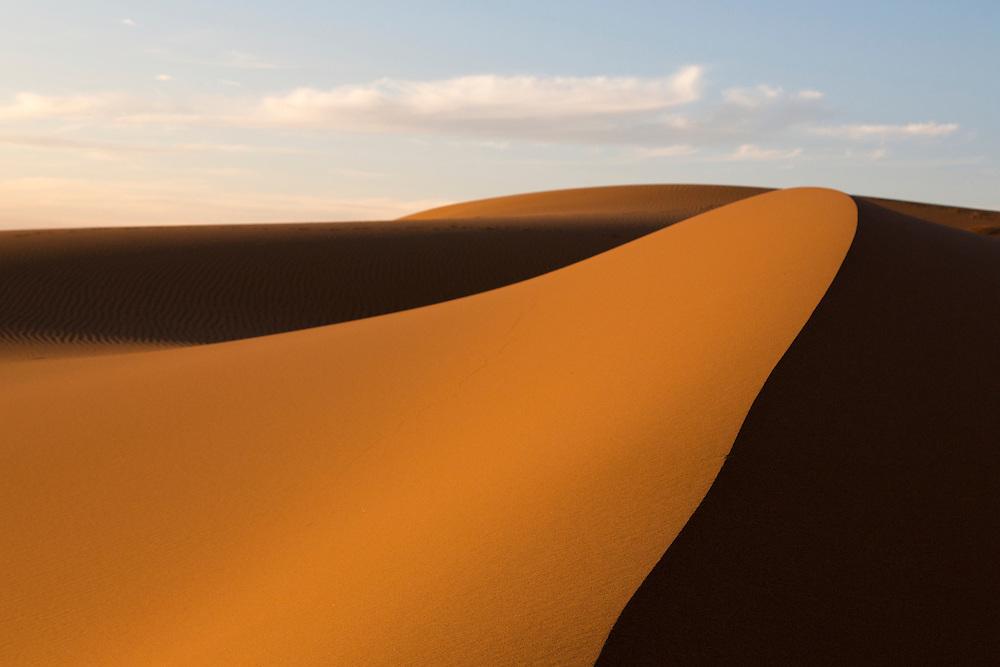 Sand dunes in the Gobi Desert on July 28, 2012. © 2012 Tom Turner Photography