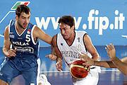 DESCRIZIONE : SAN BENEDETTO DEL TRONTO TORNEO INTERNAZIONALE DELL'ADRIATICO<br /> GIOCATORE : POZZECCO<br /> SQUADRA : ITALIA NAZIONALE<br /> EVENTO : TORNEO INTERNAZIONALE DELL'ADRIATICO<br /> GARA : ITALIA-GRECIA<br /> DATA : 21/08/2005<br /> CATEGORIA : Palleggio<br /> SPORT : Pallacanestro<br /> AUTORE : AGENZIA CIAMILLO &amp; CASTORIA/Stefano Ceretti