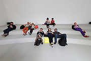 "56th Art Biennale in Venice - All The World's Futures.<br /> Giardini.<br /> France pavilion.<br /> Céleste Boursier-Mougenot, ""rêvolutions"", 2015."