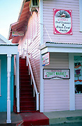 Craft shops, George Town, Grand Cayman, Cayman Islands, British West Indies,
