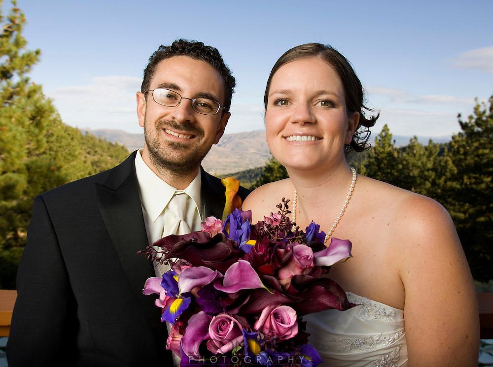 Maja and Rob's wedding portraits..