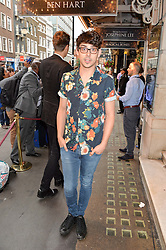 TV & Radio presenter MATT RICHARDSON at a Gala Performance of Impossible at the Noël Coward Theatre, 85-88 Saint Martin's Lane, London on 13th July 2016.