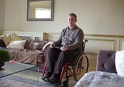 UK ENGLAND HARLOW 23FEB15 - Martin Pistorius, author of the 2011 book Ghost Boy, in which he describes living with locked-in syndrome and being unable to move for 12 to 14 years.<br /> <br /> <br /> jre/Photo by Jiri Rezac<br /> <br /> © Jiri Rezac 2015