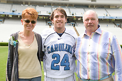 19 April 2008: North Carolina men's lacrosse midfielder Mike Munnelly (24) before a 13-9 win over the Hofstra Pride at Kenan Stadium in Chapel Hill, NC.