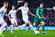 Leeds United defender Ben White (5) during the EFL Sky Bet Championship match between Leeds United and Sheffield Wednesday at Elland Road, Leeds, England on 11 January 2020.