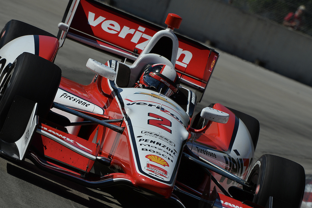 Juan Pablo Montoya, Raceway at Belle Isle Park, Detroit, MI USA 6/1/2014