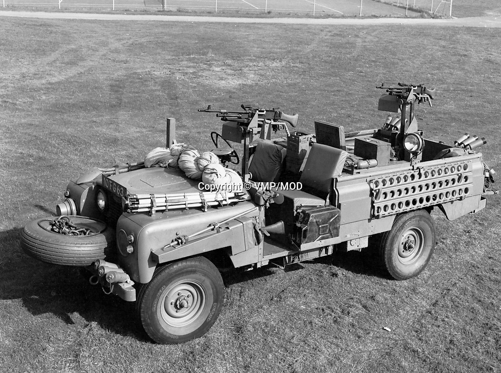 Land Rover: official British Army military version