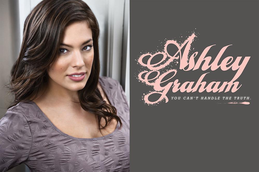 Portrait of supermodel Ashley Graham by Michel Leroy PHOTOGRAPHER