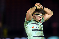 Lewis Ludlow of Gloucester Rugby looks dejected after the match - Mandatory byline: Patrick Khachfe/JMP - 07966 386802 - 01/12/2019 - RUGBY UNION - The Twickenham Stoop - London, England - Harlequins v Gloucester Rugby - Gallagher Premiership