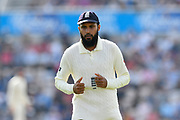 Adil Rashid of England during day two of the fourth SpecSavers International Test Match 2018 match between England and India at the Ageas Bowl, Southampton, United Kingdom on 31 August 2018.