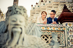 Bangkok Pre-Wedding Photography: Wat Arun & China Town