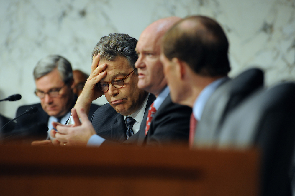 """Sen. Franken yields to Sen. Coons after questioning the validity of Thomas Minnery's testimony during a hearing entitled """"S.598, The Respect for Marriage Act: Assessing the Impact of DOMA on American Families."""" Minnery is the senior vice president for public policy for Focus on Family."""