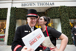 &lsquo;All eyes on the pies'<br /> The Butler's Pantry will be at your service in Brown Thomas Dublin Limerick and Cork with it&rsquo;s Christmas range. Pictured at the announcement is Aoife Connolly from Sandyford. www.thebutlerspantry.ie . Picture Andres Poveda