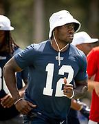 Aug 4, 2019, Irvine, CA, USA; Los Angeles Rams wide receiver Brandin Cooks (12) during training camp at UC Irvine. (Ed Ruvalcaba/Image of Sport)
