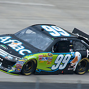 Carl Edwards #99 rounds turn two Friday May. 13, 2011 during NASCAR Sprint Cup Series practice race at Dover International Speedway in Dover Delaware..
