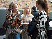 BAY GARNETT; NATALIE PRESS; ALICE TEMPERLEY, BROWN'S 40TH ANNIVERSARY DINner. Regent Loft and Penthouses. Marshall St. London. 13 May 2010. -DO NOT ARCHIVE-© Copyright Photograph by Dafydd Jones. 248 Clapham Rd. London SW9 0PZ. Tel 0207 820 0771. www.dafjones.com.