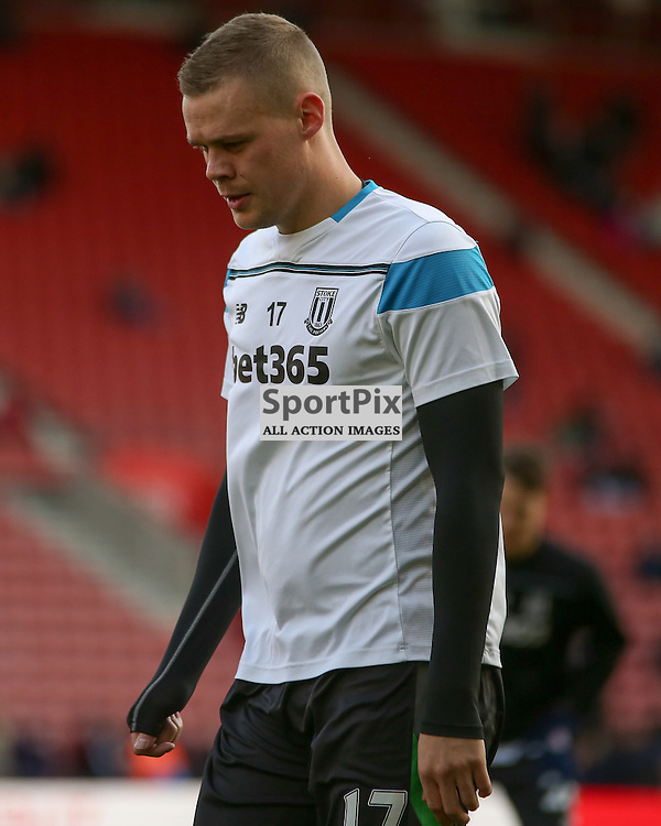 Ryan Shawcross During Southampton vs Stoke City on Saturday the 21st November 2015.