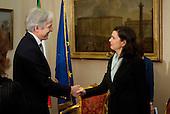 Laura Boldrini meets Christopher Prentice
