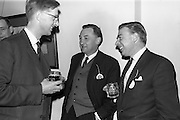 28/04/1964<br /> 04/28/1964<br /> 28 April 1964<br /> Watney Sales Conference at the Shelbourne Hotel, Dublin. At the conference were (l-r): Mr. E. Plunkett; Mr. T. Beechinor and Mr. B.T. White