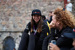 Liane Lippert (GER) at Ladies Tour of Norway Team Presentation 2018, in Halden, Norway on August 15, 2018. Photo by Sean Robinson/velofocus.com
