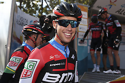 February 14, 2018 - Lagos, Portugal - Richie Porte of BMC Racing Team before the 1st stage of the cycling Tour of Algarve between Albufeira and Lagos, on February 14, 2018. (Credit Image: © Str/NurPhoto via ZUMA Press)