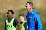 *Levi Garcia* of AZ Alkmaar, coach *John van den Brom* of AZ Alkmaar,