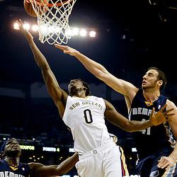 12-13-2013 Memphis Grizzlies at New Orleans Pelicans