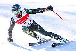 02.03.2020, Hannes Trinkl Weltcupstrecke, Hinterstoder, AUT, FIS Weltcup Ski Alpin, Riesenslalom, Herren, 1. Lauf, im Bild Tommy Ford (USA) // Tommy Ford of the USA in action during 1st run of men's Giant Slalom of FIS ski alpine world cup at the Hannes Trinkl Weltcupstrecke in Hinterstoder, Austria on 2020/03/02. EXPA Pictures © 2020, PhotoCredit: EXPA/ Johann Groder