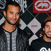 NLD/Amsterdam/20111007 - Presentatie Marc Ecko watches, The Opposites, Willy en ………