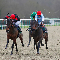 Foxtrot Jubilee and Jim Crowley winning the 12.30 race