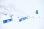 David Bonneville during Slopestyle Practice at the 2013 X Games Tignes in Tignes, France. ©Brett Wilhelm/ESPN