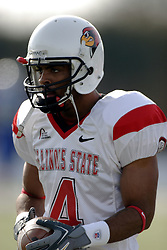 25 November 2006: Pierre Jackson.&#xD;The Redbirds romped the Panthers by a score of 24-13.&#xD;This game was a 1st round NCAA Division 1 Playoff held at O'Brien Stadium on the campus of Eastern Illinois University in Charleston Illinois.<br />