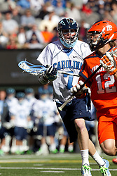10 April 2010: North Carolina Tar Heels midfielder Tyler Morton (7) during a 7-5 loss to the Virginia Cavaliers at the New Meadowlands Stadium in the Meadowlands, NJ.